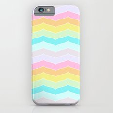 Pastel Stripes iPhone 6s Slim Case