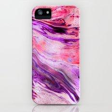 Marbled Garnet iPhone SE Slim Case