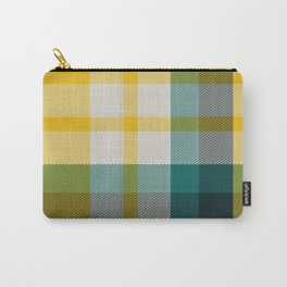 Plaid 15 Carry-All Pouch