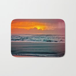 Ocean Sunset - Pacific Coast Highway 101 Bath Mat