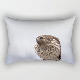 Backyard Hawk Rectangular Pillow