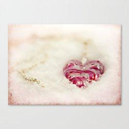 Winterheart Canvas Print