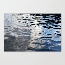 The Sky Is In The Lake Canvas Print