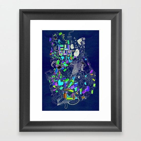 Cubus Framed Art Print