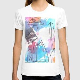 UFO Town T-shirt