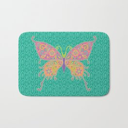 Butterflies Are Free To Fly... Bath Mat