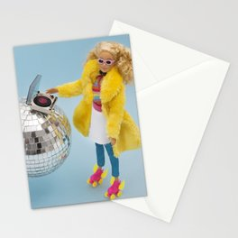 Retro party Stationery Cards