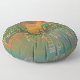 Station / Spatial Factor 19-12-16 Floor Pillow