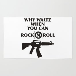 Why Waltz When You Can Rock & Roll Rug