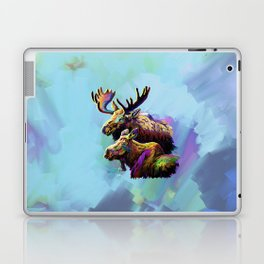 Colorful Moose Laptop & iPad Skin