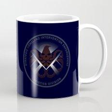 Hidden HYDRA - S.H.I.E.L.D. Logo with Wording Coffee Mug