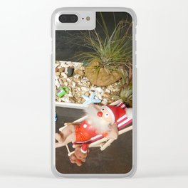 Xmas Downunder Clear iPhone Case