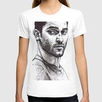 derek hale T-shirts featuring TEEN WOLF - Derek Hale by Sara (aka Wisney)