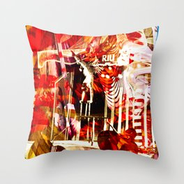 """Circus Dayz: Remixed"" Throw Pillow"