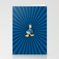 donald duck Stationery Cards featuring Donald - The Duck by applerture