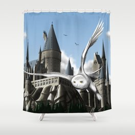 Hedwig's Flight Shower Curtain