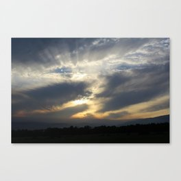 Rays for days Canvas Print
