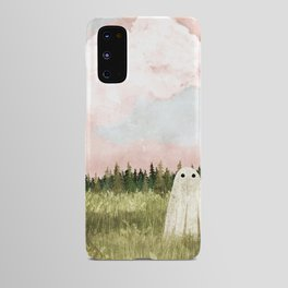 Cotton candy skies Android Case