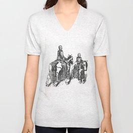 X-Ray Horsemen Unisex V-Neck
