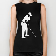 Golf player Biker Tank