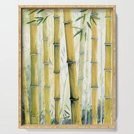Bamboo Trees Serving Tray