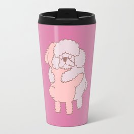 Poodle Hugs Travel Mug