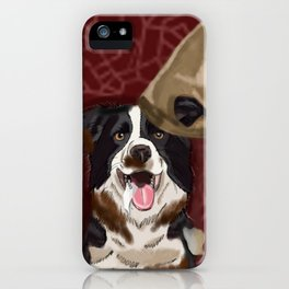 Dog Gone Dirty iPhone Case