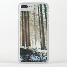 Attersee (12b) Clear iPhone Case
