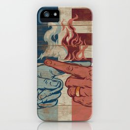 Blame US iPhone Case