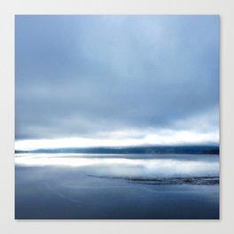 Soft winter sky Canvas Print