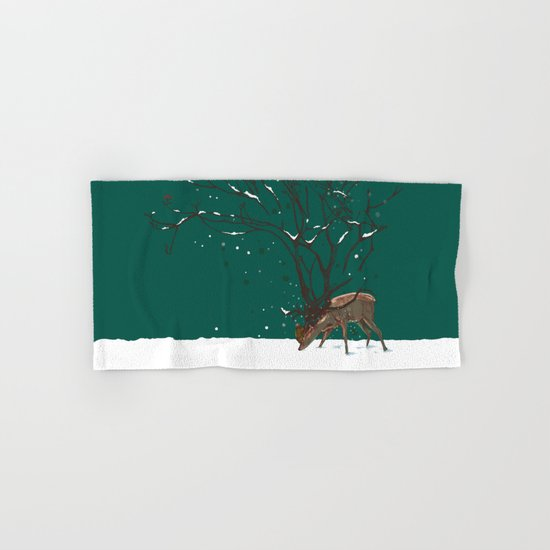 Winter Is All Over You Hand & Bath Towel