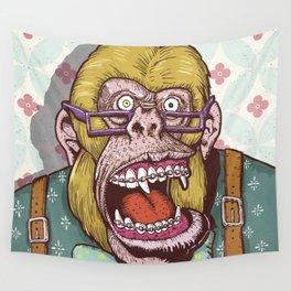 Gorilla Boss Wall Tapestry