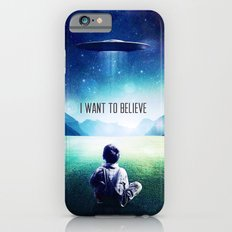 I want to believe - for iphone iPhone 6 Slim Case