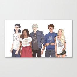 TDA Team Canvas Print