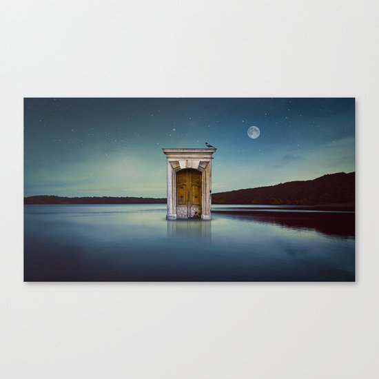 River Door Canvas Print