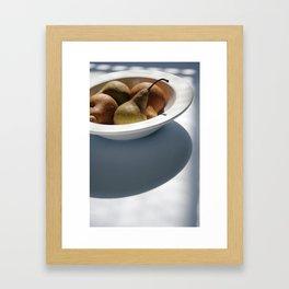 Organic Pears Framed Art Print