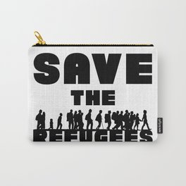 SAVE THE REFUGEES Carry-All Pouch