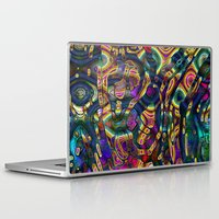 wild things Laptop & iPad Skins featuring Wild Things by RingWaveArt