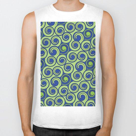 Pattern C Biker Tank