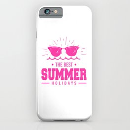 The Best Summer Holidays mag iPhone Case