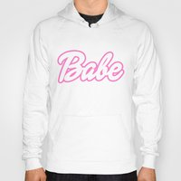 barbie Hoodies featuring Barbie Babe by Wondering Lolita by Naeema Krishna