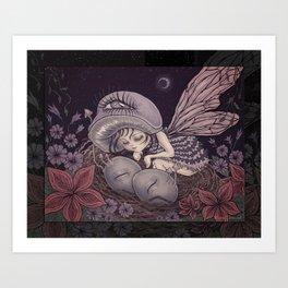 Fairy Dreaming Art Print