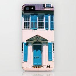Blue Moon Charleston iPhone Case