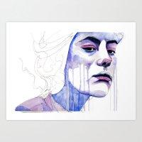(e)motion 01 Art Print