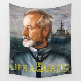 The Life Aquatic with Steve Zissou Wall Tapestry