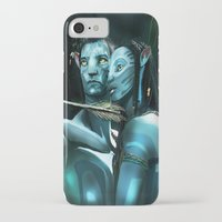 avatar iPhone & iPod Cases featuring Avatar by Dano77