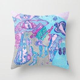 The Puget Sound Throw Pillow