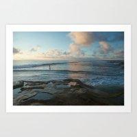Whispering Sands Art Print