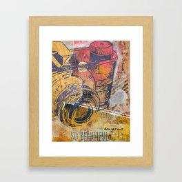 """So Beautiful-Dangerous"" Framed Art Print"