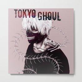 Kaneki ken Nice - Tokyo Ghoul Metal Print
